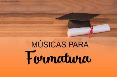 Músicas para Formatura